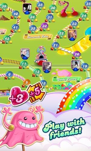 تحميل لعبة كاندي كراش ساجا Candy Crush Saga رابط مباشر ملف apk