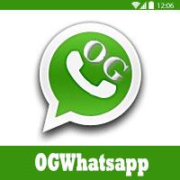 طريقة تشغيل حسابين على الواتس اب برنامج OGWhatsApp