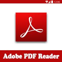 تحميل برنامج فتح ملفات PDF ادوبي ريدر للاندرويد والتابلت