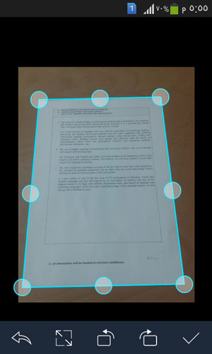 تحميل برنامج كام سكانر CamScanner للطباعة للاندرويد
