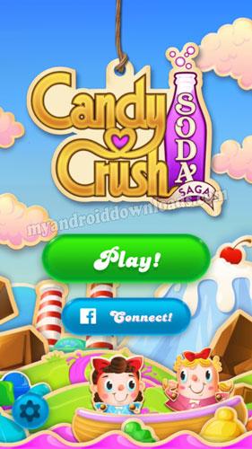 تحميل لعبة كاندي كراش صودا ساجا Candy Crush Soda Saga للاندرويد