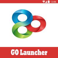 تحميل برنامج جو لانشر GO launcher ex apk تغير شكل الاندرويد