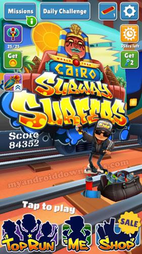 تنزيل لعبة صب واي للموبايل- Subway Surf الجديدة 2018 - ساب واي مجانا