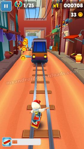 تنزيل لعبة ساب واي للموبايل مجانا - اهرب من الشرطي والكلب واحذر من القطارات
