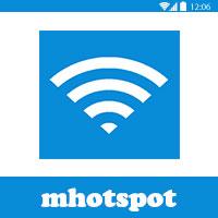 طريقة تحويل اللابتوب الى واي فاي لتوزيع الانترنت للجوال mhotspot