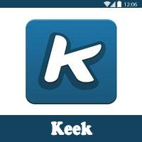 تحميل برنامج كيك Keek للاندرويد لعمل ومشاركة مقاطع فيديو