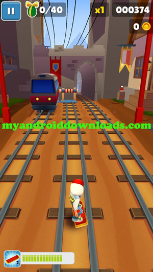 عليك الهروب بسرعة على القضبان الحديدية - لعبة سابوي الاصلية الجديدة