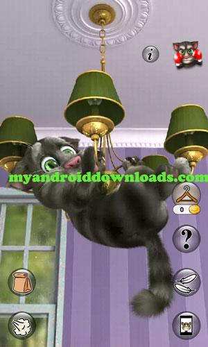 لعبة البس المتكلم Talking Tom Cat 2