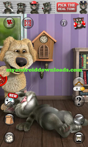 لعبة القط الناطق توم 2 للاندرويد اخر اصدار 2016