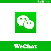 تحميل التطبيق الشهير WeChat وي شات للدردشة مع الاقرباء