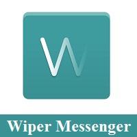 تحميل برنامج ويبر للاندرويد مكالمات مجانية مشفرة Download Wiper Messenger Free Calls & Text Messages