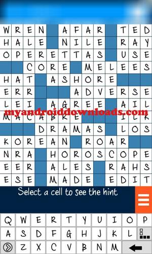 تحميل لعبة الكلمات المتقاطعة 2016 للموبايلانجليزي