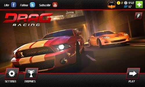 تحميل لعبة سباق سيارات الجديدة للاندرويد DRAG RACING CLUB WARS