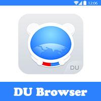 تحميل متصفح ديو DU افضل متصفح انترنت للاندرويد
