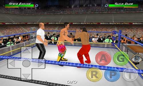تحميل لعبة المصارعة الحرة للاندرويد wwe