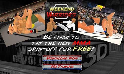 تحميل لعبة المصارعة الحرة WWE للاندرويد Wrestling Revolution 3D
