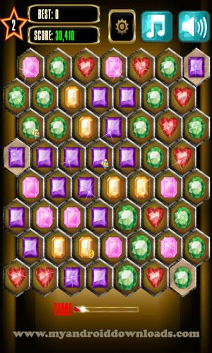 تحميل لعبة تجميع الاحجار الكريمة للاندرويد Bejeweled Blitz مجانا