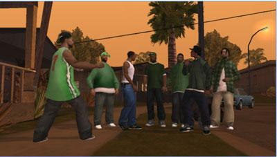 عصابة حرامي السيارات اثناء التعاقد والاتفاق على السرقة بعد تحميل لعبة جراند للاندرويد