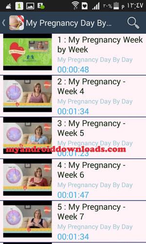 برنامج My Pregnancy Today للموبايل