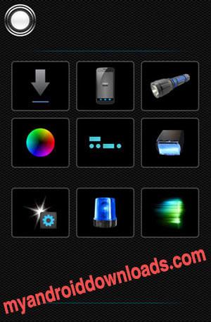 تحميل برنامج الكشاف Tiny Flashlight المصباح الذكي للاندرويد مجانا