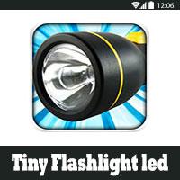 تحميل برنامج الكشاف Tiny Flashlight المصباح الذكي للاندرويد