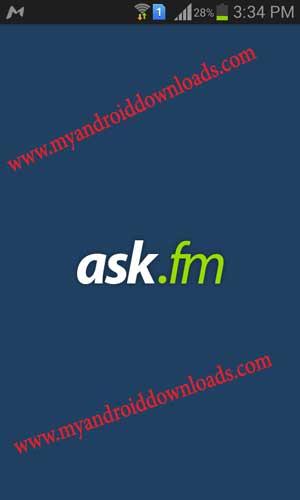 تحميل برنامج اسك اف ام عربي للاندرويد - Ask for android