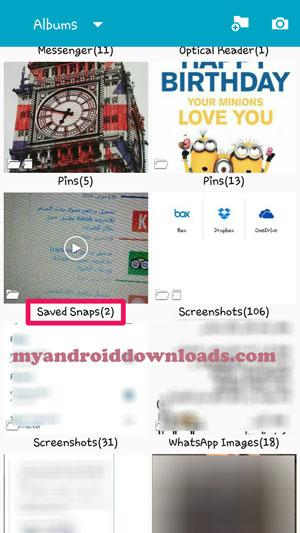 تحميل برنامج حفظ السناب شات للاندرويد برابط مباشر حفظ السنابات Download SaveMySnaps Save Snapchat pics & videos for Android