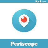 تحميل برنامج البث المباشر على تويتر Periscope