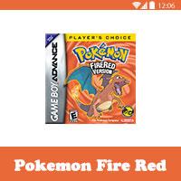 تحميل لعبة بوكيمون فاير للاندرويد Pokemon Fire Red