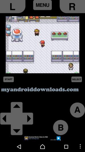المتجر الذي يمكنك من خلاله الحصول على بعض البوكيمونات - تحميل لعبة بوكيمون فاير للاندرويد Pokemon Fire Red