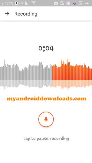 امكانية تسجيل مقطع صوتي خاص بك - تحميل برنامج ساوند كلاود للاندرويد مجانا SoundCloud