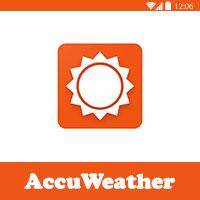 تحميل برنامج حالة الطقس للاندرويد AccuWeather لمعرفة الاحوال الجوية العالمية مجانا