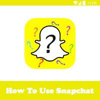 طريقة استخدام سناب شات للاندرويد How To Snapchat رموز و فيسات السناب