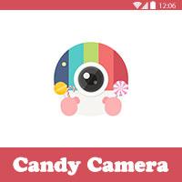 Candy Camera - تحميل افضل برنامج تحرير و تعديل الصور للاندرويد مجانا Best Photo Editor Apps
