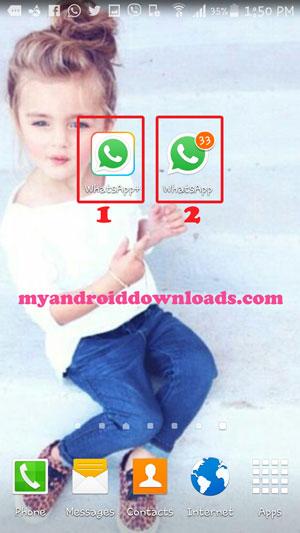 تم تكرار برنامج الواتس اب - تكرار الواتس اب للاندرويد Multiple Whatsapp Account فتح اكثر من حساب واتساب ( فتح حسابين واتس في جهاز واحد ، فتح حسابين واتساب في جهاز واحد ، تحميل واتس اب ثاني للاندرويد ، تحميل واتس اب برقمين مختلفين للاندرويد ، تحميل اكثر من واتس اب للاندرويد ، واتس اب مكرر للاندرويد ، تحميل واتس اب ثاني ، فتح اكثر من واتس ، فتح 2 واتس ، تنزيل واتس اب ثاني ، مكرر واتس اب ، واتس اب مكرر للاندرويد ، تحميل اكثر من واتس اب )