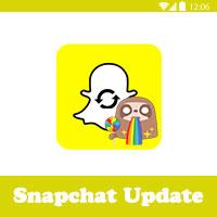 تحديث السناب شات الجديد 2017 Snapchat update اخر اصدار 10.15.0.0 للاندرويد