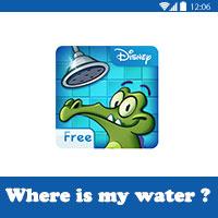 تحميل لعبة where's my water للاندرويد مجانا لعبة التمساح والماء