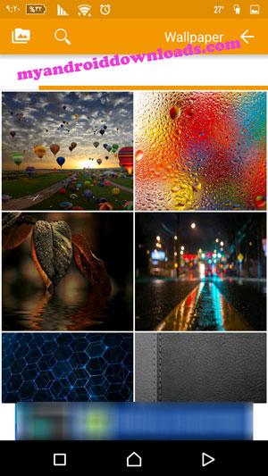 المزيد من خلفيات الشاشة Wallpaper في برنامج 1 موبايل ماركت 1mobile market