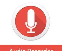 تحميل برنامج تسجيل الصوت للاندرويد Audio Recorder مسجل صوت مجانا