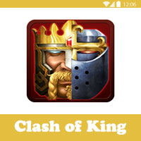 لعبة كلاش اوف كينج clash of kings لعبة حرب الملوك - العاب مثل كلاش اوف كلانس