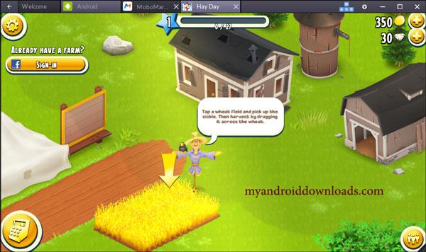 تحميل لعبة hay day مهكرة للكمبيوتر