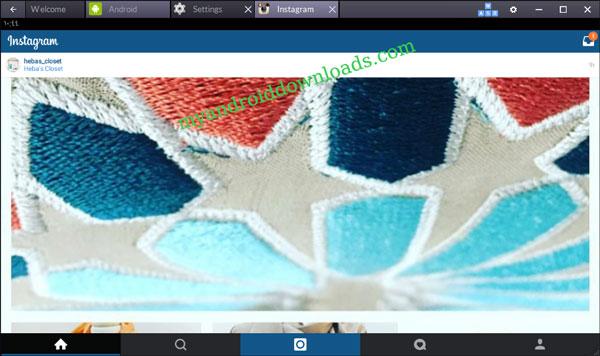 تنزيل الصور الى الانستغرام و تحميل صور انستكرام من الكمبيوتر - تثبيت الانستقرام على الكمبيوتر و اللاب توب مجانا باستخدام برنامج بلو ستاك لتشغيل تطبيقات الاندرويد على الكمبيوتر