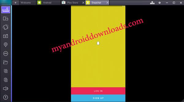 الواجهة الرئيسية لبرنامج سناب شات تسجيل دخول سناب شات للكمبيوتر مجانا