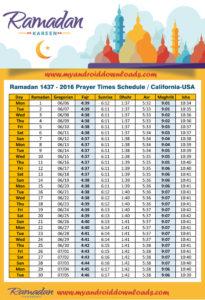 امساكية رمضان 2016 كاليفورنيا امريكا تقويم رمضان 1437 Amsakah Ramadan 2016 California America | Amsakah Ramadan 2016 California Amérique Fasting hours California America | Jeûne heures California Amérique