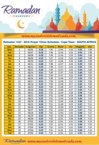 امساكية رمضان 2016 كيب تاون جنوب افريقيا تقويم رمضان 1437 Amsakah Ramadan 2016 Cape Town SouthAfrica | Amsakah Ramadan 2016 Cape Town Afrique du Sud Fasting hours in the Le Cap SouthAfrica | Heures de jeûne dans la Le Cap Afrique du Sud