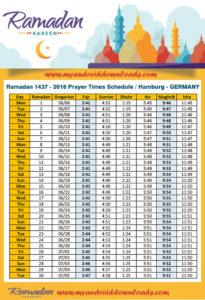 امساكية رمضان 2016 هامبورغ المانيا تقويم رمضان 1437 Ramadan Imsakia Hamburg Germany Amsakah Ramadan 2016 Hamburg, Germany | Amsakah Ramadan 2016 Hambourg, Allemagne | Amsakah Ramadan 2016 Hamburg, Deutschland Fasting hours in Hamburg, Germany | Heures de jeûne à Hambourg, Allemagne | Fasten Stunden in Hamburg, Deutschland
