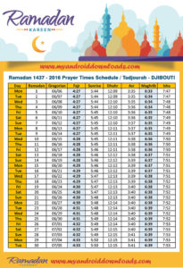 امساكية رمضان 2016 تاجوراء جيبوتي تقويم رمضان 1437 Amsakah Ramadan 2016 Tajoura Djibouti | Amsakah Ramadan 2016 Tajoura Djiboutiie Fasting hours in the Tajoura Djibouti | Heures de jeûne dans la Tajoura Djiboutiie