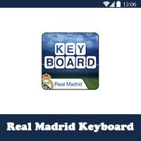 كيبورد ريال مدريد الرسمي لوحة مفاتيح انجليزي و عربي Real Madrid Keyboard