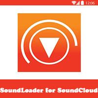 التحميل من ساوند كلاود للاندرويد soundloader for android