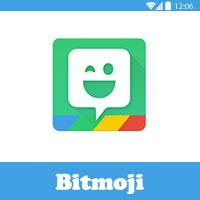 تحميل و شرح برنامج Bitmoji اصنع ايموجي سناب شات خاص بك شرح بالصور